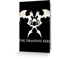 The Dragon's Keep Greeting Card