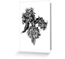 Memories of the Continent ~ Sunflowers Greeting Card