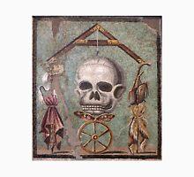 Memento Mori mosaic from Pompeii Unisex T-Shirt