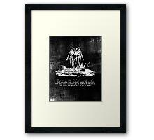 Dance of the Skeletons Framed Print