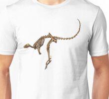 Kangaroo Skeleton Unisex T-Shirt