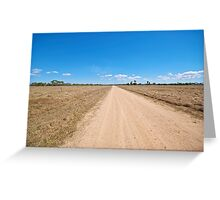 Road to Hellhole Greeting Card