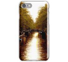 River in Amsterdam  iPhone Case/Skin
