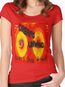 Fleetwood Mac Painting Women's Fitted Scoop T-Shirt