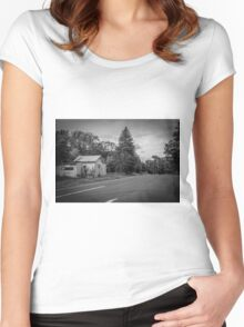 Old Country Road Women's Fitted Scoop T-Shirt