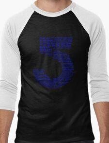 Babylon 5 Quotes - Blue Men's Baseball ¾ T-Shirt