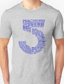 Babylon 5 Quotes - Blue T-Shirt