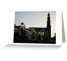 Amsterdam City Greeting Card