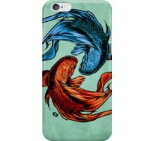 Fighting Fish iPhone Case/Skin