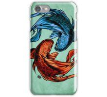 Fighting Fish iPhone Case/Skin