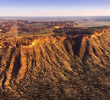 Kings Canyon Aerial NT by Russell Charters