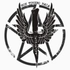Supernatural Demon Hunting Crest by fixedinpost