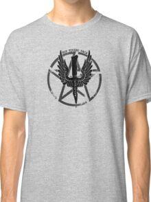 Supernatural Demon Hunting Crest Classic T-Shirt