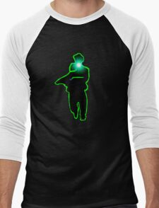Here Comes Christmas Men's Baseball ¾ T-Shirt