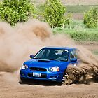 Subaru WRX at the Rallyx by trussphoto