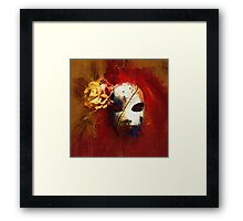 Gothic Mask 2 Framed Print