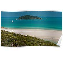 White Heaven Beach, Whitsundays, QLD Poster