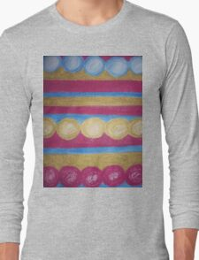 Beads in pastel Long Sleeve T-Shirt