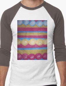 Beads in pastel Men's Baseball ¾ T-Shirt