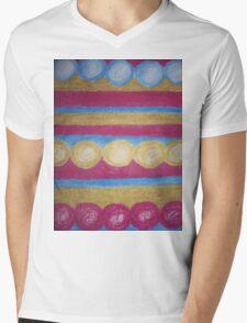 Beads in pastel Mens V-Neck T-Shirt