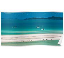 White Heaven Beach, Whitsundays Poster