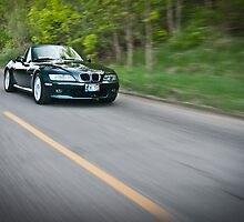 BMW Z3 on the Road by trussphoto