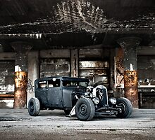 1928 Model A Rat Rod by trussphoto