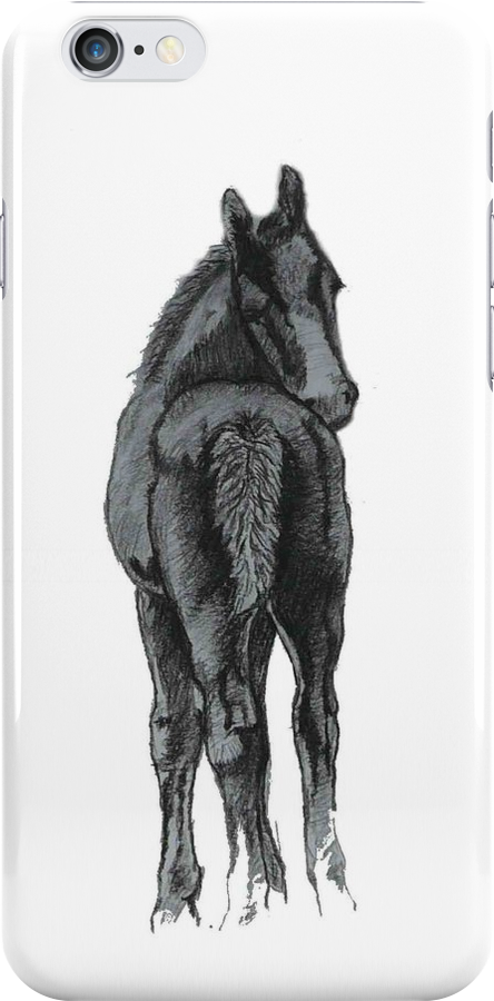 Cute Foal iPhone and iPod Cases by Patricia Barmatz