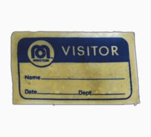 Mego Visitor Badge Kids Tee