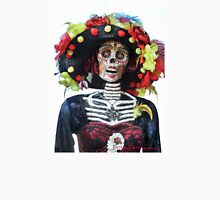 DAY OF THE DEAD #3 Womens Fitted T-Shirt