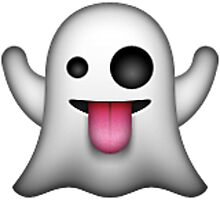 Ghost Emoji by nojams