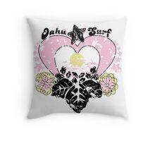 Aloha Vintage Throw Pillow