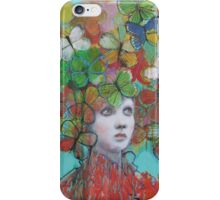 The Butterfly Hat iPhone Case/Skin