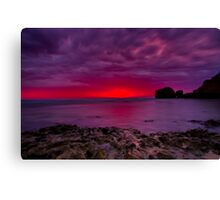 """Rocky Point Dawning"" Canvas Print"