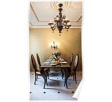 dining room interior Poster