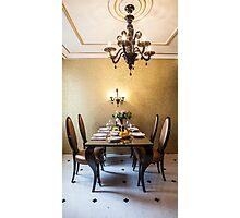 dining room interior Photographic Print
