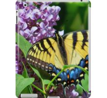 Eastern Tiger Swallowtail And Lilacs iPad Case/Skin