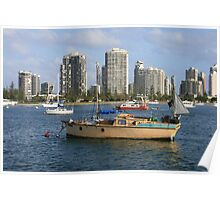 Gold Coast Broadwater Poster