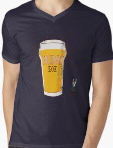 Friday Beer Mens V-Neck T-Shirt