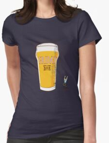 Friday Beer Womens Fitted T-Shirt