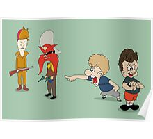 Yoseavis & Fuddhead Poster