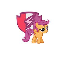 Scootaloo with Cutie Mark Photographic Print