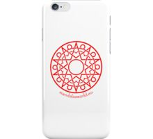 Arabian Mandala n1 Red iPhone Case/Skin
