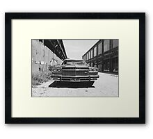 The American. Framed Print