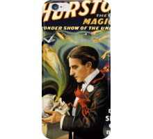 Thurston the great magician 1915 Vintage Poster iPhone Case/Skin