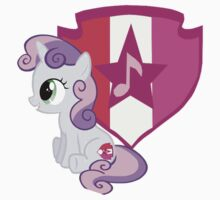 Sweetie Belle with Cutie Mark by Steven Hoag