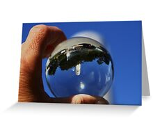 the World in my Hands ~ Coit Tower  Greeting Card