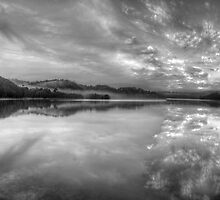 Black and White Melody - Narrabeen Lakes,Sydney Australia - The HDR Experience by Philip Johnson