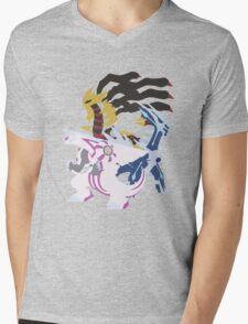 Creation Trio Mens V-Neck T-Shirt