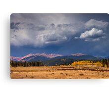 Storms Along Kenosha Pass Canvas Print